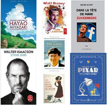 Des livres inspirés par les plus grands entrepreneurs modernesLivres