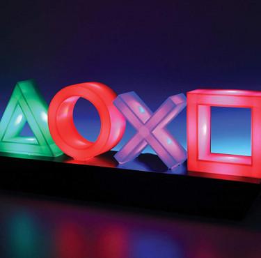 Les meilleurs gadgets à offrir à un gamerLampe PlayStation