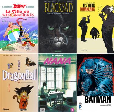 Les meilleurs comics, BD et mangas à offrir pour NoëlComics, BD, manga