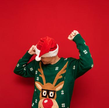 Le meilleur des pires pulls kitsch de NoëlPull de Noël