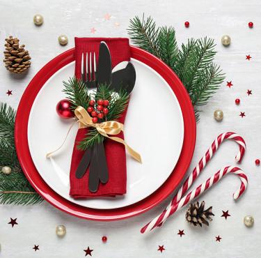Des petits objets déco pour décorer sa table de Noëldécoration table de Noël