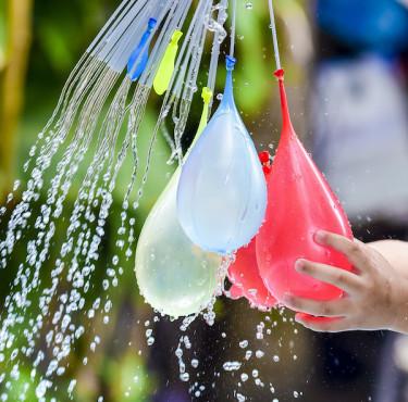 Les meilleurs jeux d'eau pour le jardinBallons d'eau