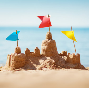 Les meilleurs jouets de plage pour les enfantsChâteau de sable