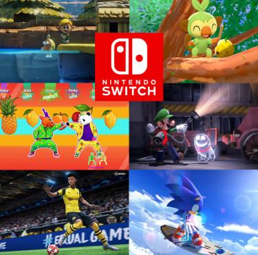 Les meilleurs jeux Switch de 2019 à offrir à Noëljeux Switch 2019
