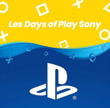 Les bons plans PS4 du Days of PlayDays of Play PS4
