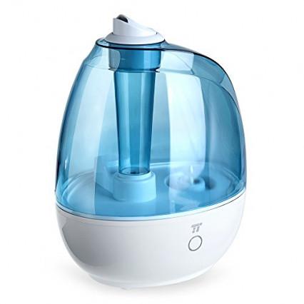 L'humidificateur à ultrasons TaoTronics avec tête pivotante à 360°