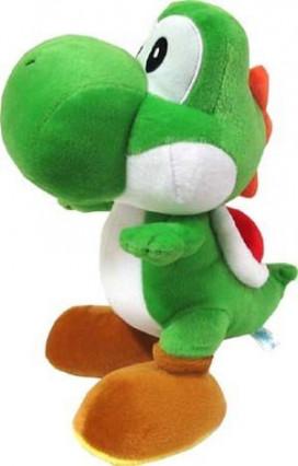 Une peluche Yoshi
