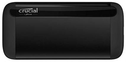 Le SSD tout en longueur Crucial X8 1 To