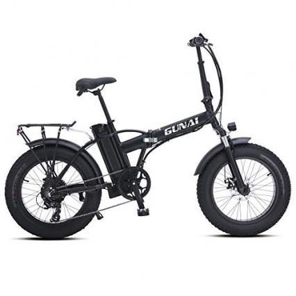 Le vélo électrique Fat Bike par Gunai