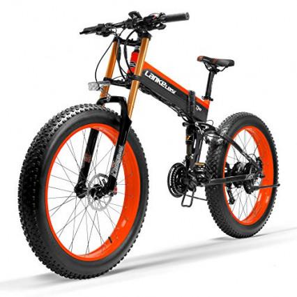 Le vélo électrique tout-terrain Lankeleisi T750 Plus