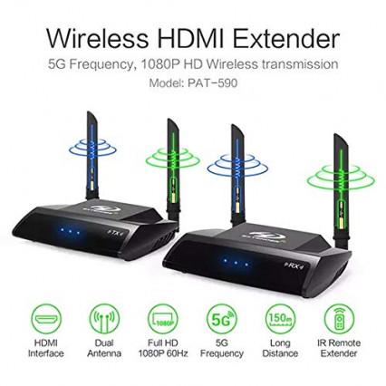 Le transmetteur HDMI sans fil double bande Emebay Pakite
