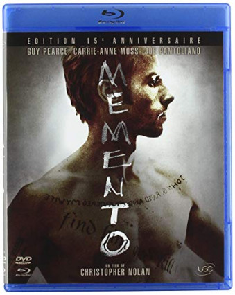 2000 : Memento, avec Guy Pearce, Carrie-Ann Moss et Joe Pantoliano