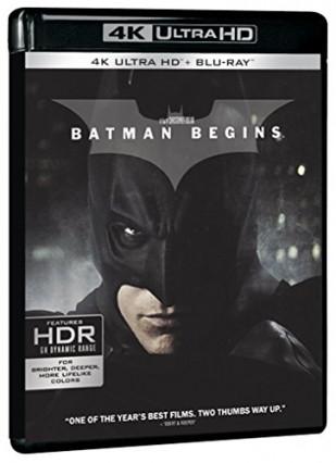 2005 : Batman Begins, avec Christian Bale, Michael Caine, Liam Neeson et Katie Holmes