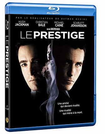 2006 : Le Prestige, avec Hugh Jackman, Christian Bale, Michael Caine et Scarlett Johansson