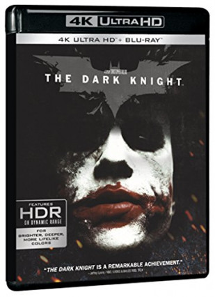 2008 : The Dark Knight, avec Heath Ledger, Christian Bale, Aaron Eckhart et Maggie Gyllenhall