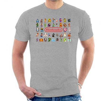 Un t-shirt rétro Nintendo