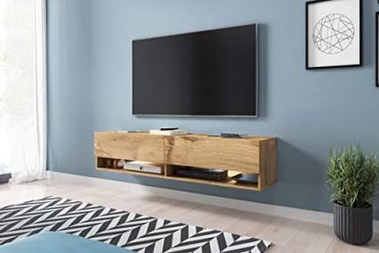 Un meuble TV scandinave particulièrement esthétique