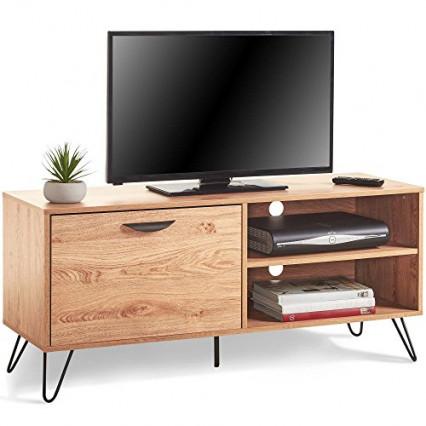 Un meuble TV sobre et contemporain