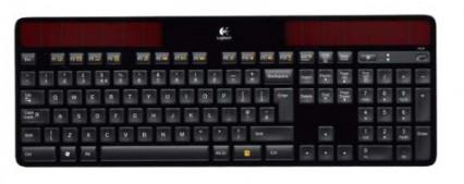 Le clavier sans fil Logitech qui se charge à la lumière