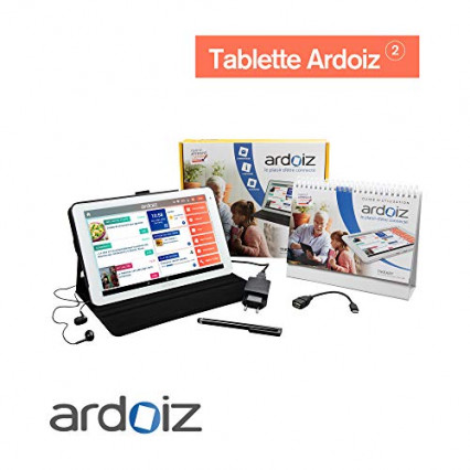 La tablette simplifiée pour senior Ardoiz 2 avec un an de contenu prépayé