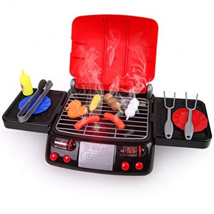 Le barbecue pour enfant qui émet de la fumée par LBLA