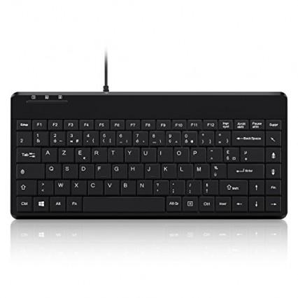 Perixx PERIBOARD-409: le mini clavier plat
