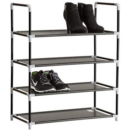 Le meuble à chaussures en acier TecTake, le plus léger