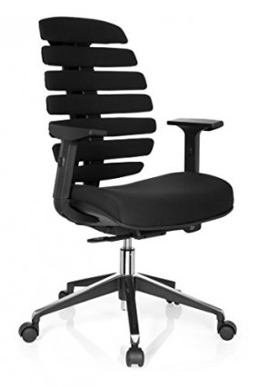 Un siège de bureau ergonomique et design avec mécanisme synchrone