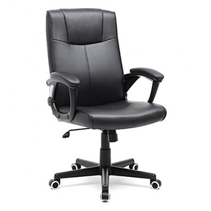 Un fauteuil de bureau ergonomique au look classique