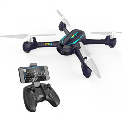 Un bon modèle pour débuter, le drone avec caméra Hubsan H216A