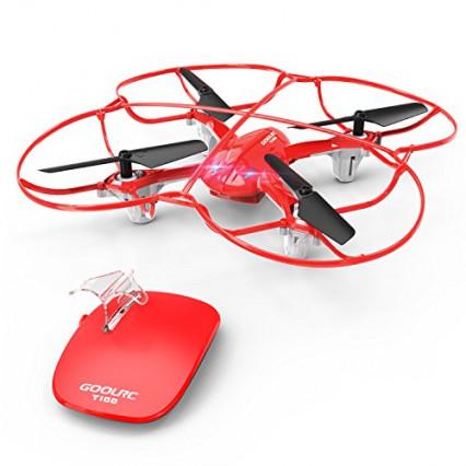 Le drone quadricoptère contrôlable avec un seul bouton