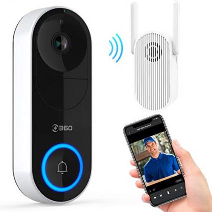 La sonnette connectée avec détecteur de mouvement