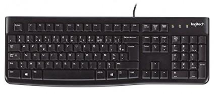 Le modèle classique: le clavier pour ordinateur Logitech K120