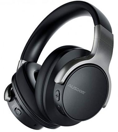 Confort et polyvalence : le casque Bluetooth avec réduction de bruit active ANC8 d'AUSDOM