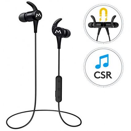 Des écouteurs sport sans fil antibruit et étanches