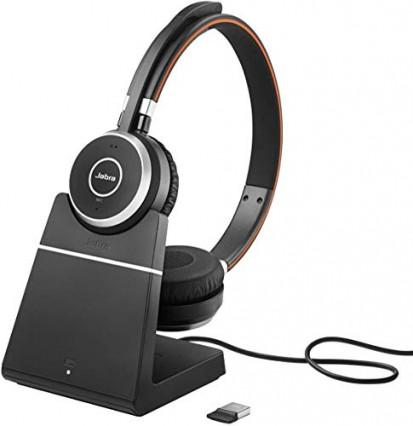 Pour les professionnels : le micro-casque stéréo Bluetooth Evolve 65 de Jabra