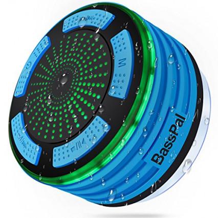 Une enceinte Bluetooth d'extérieur lumineuse et étanche