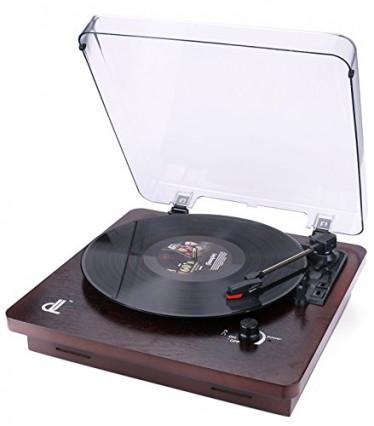 La platine vinyle vintage en bois la plus solide