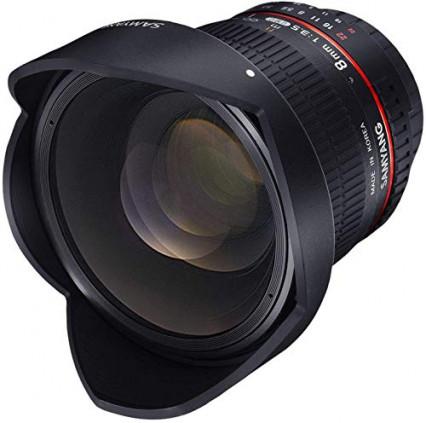 Le plus sophistiqué et meilleur objectif grand angle : le Samyang 8 mm f3,5
