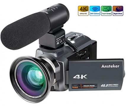 Un caméscope 4K pas cher spécial vision nocturne