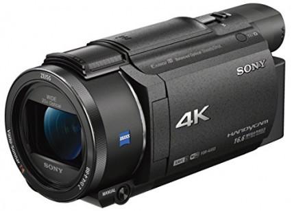 Le caméscope 4K haute qualité facile d'utilisation
