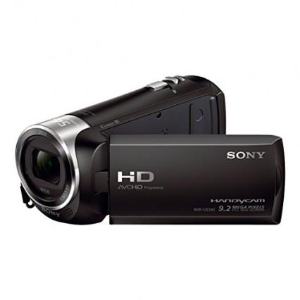 Le caméscope Sony CX240 : parfait pour les débutants