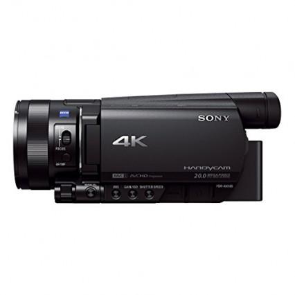 Le caméscope Sony 4K haut de gamme