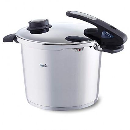 Une cocotte-minute induction pour cuire à la vapeur sans pression