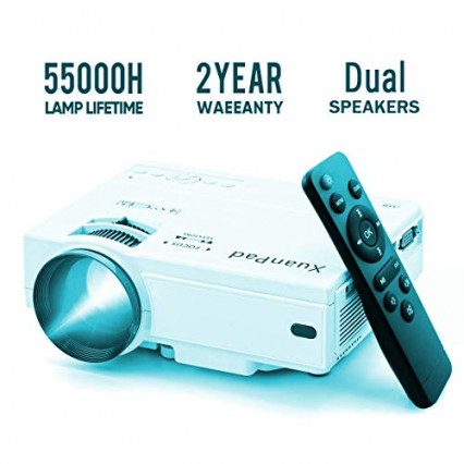 Le mini vidéoprojecteur LED le plus facile d'utilisation
