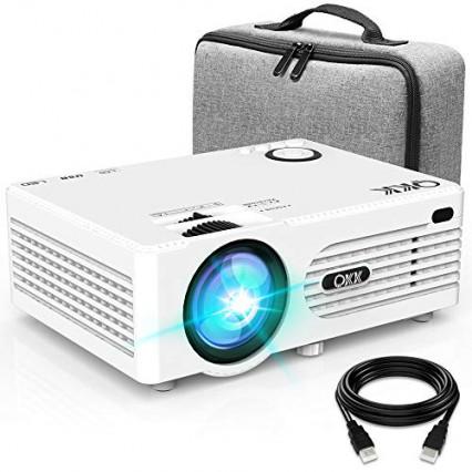 Un mini vidéoprojecteur portable HD