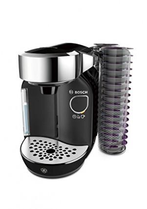La cafetière Tassimo Bosch TAS7002, avec un porte-capsules