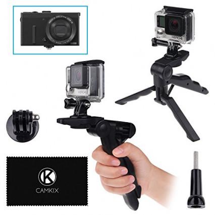 Le modèle compact poignée, le trépied pour appareil photo CamKix