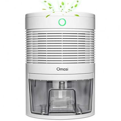 Le mini déshumidificateur efficace : le déshumidificateur électrique Omasi 600 ml