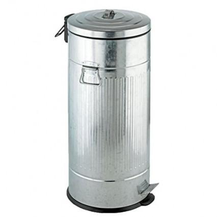Une poubelle de cuisine 30 L au look industriel